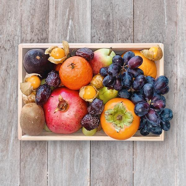 Premium Obst-Holzkiste